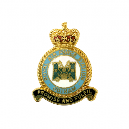 Royal Air Force RAF Station Odiham Lapel Badge